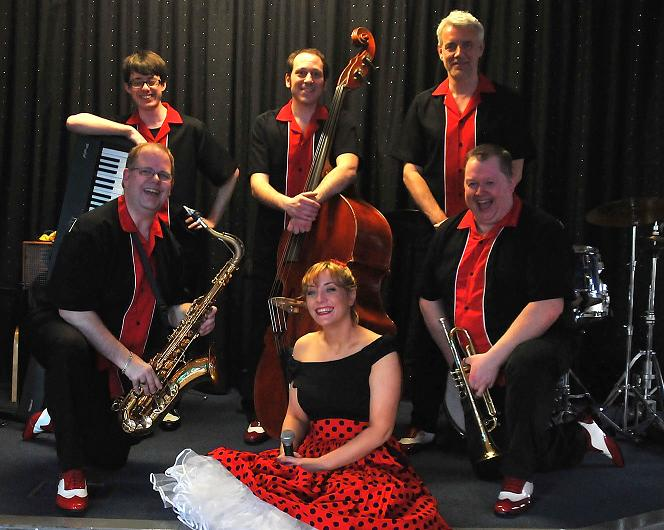 Swingzing band photo